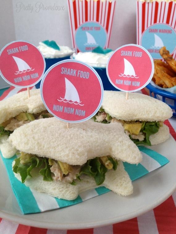 shark-party-food